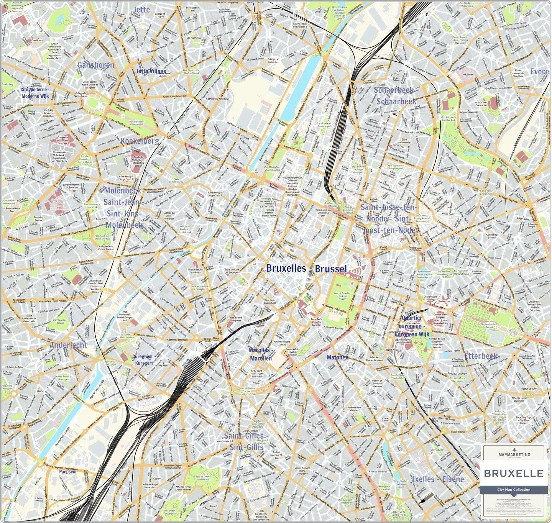 Cartina Del Belgio Da Stampare.Mappe Di Bruxelles Mappe Dei Trasporti E Mappe Turistiche Di Bruxelles In Belgio